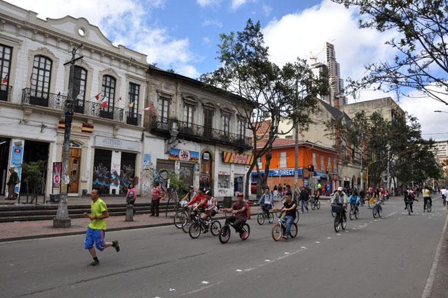 Sunday ciclovía, Bogotá