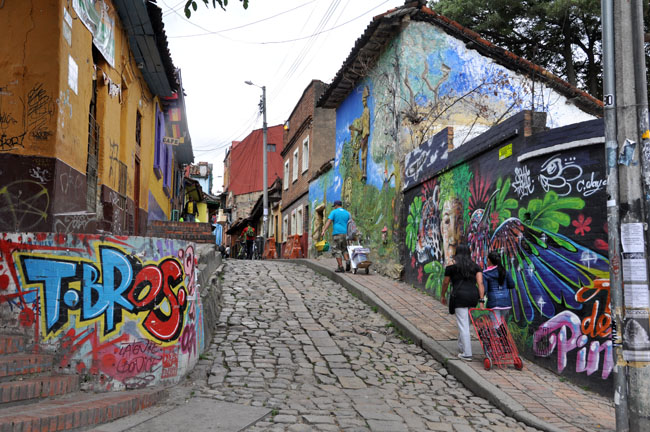 Oldest street in Bogotá, La Candelaria - places to visit in Colombia