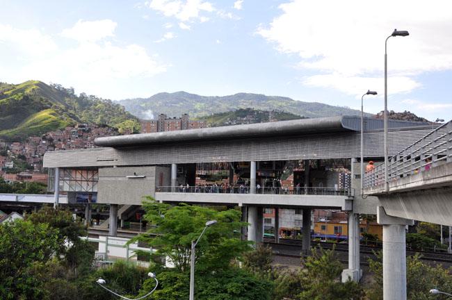 Metrocable station, Medellín