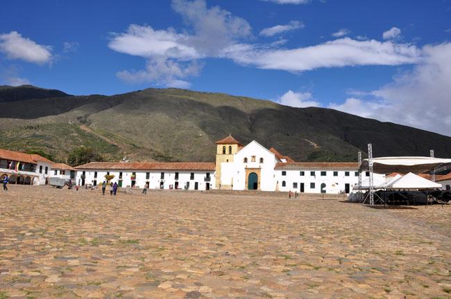 Main plaza, Villa de Leyva