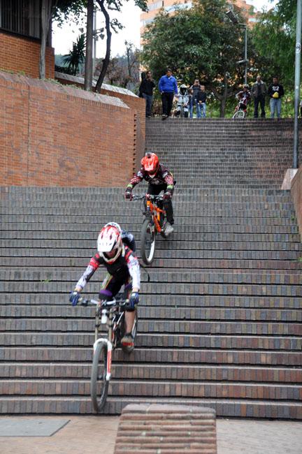 Urban cycling, Bogotá, Colombia