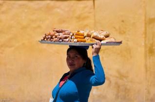 Street vendor, San Cristóbal