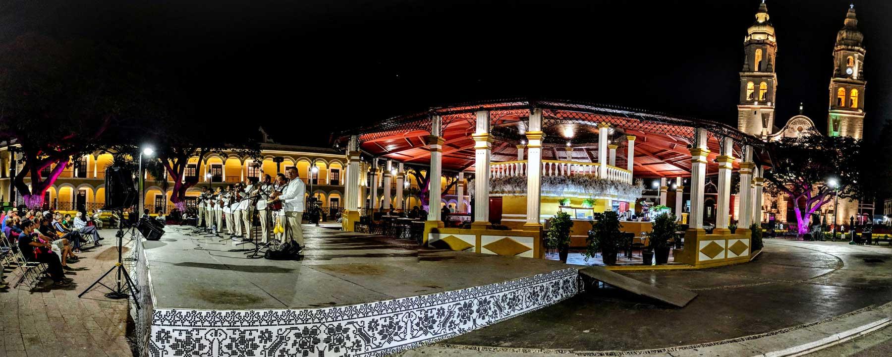 Campeche - Yucatan itinerary
