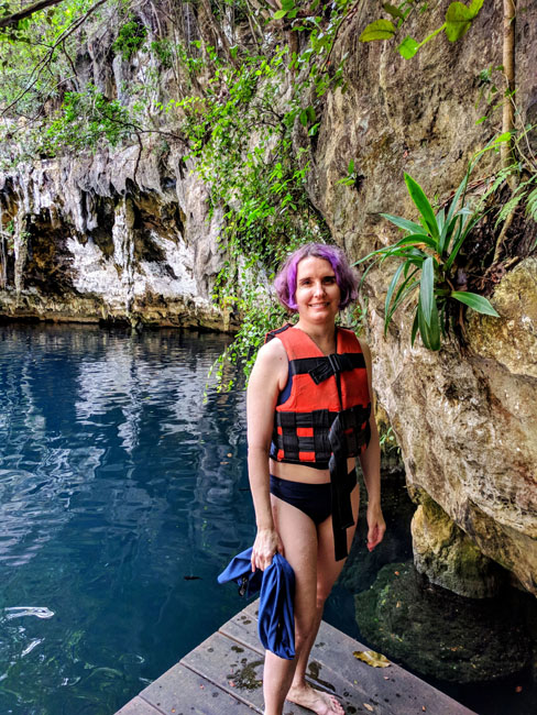 Yokdzonot cenote - best excursions in Yucatan