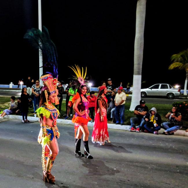Carnaval kick-off parade in Campeche - Yucatan destinations