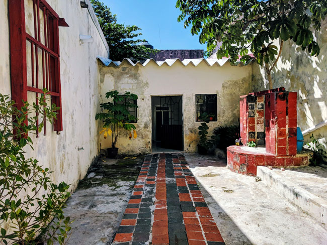 My Airbnb in Campeche - best places to visit in Yucatan Mexico