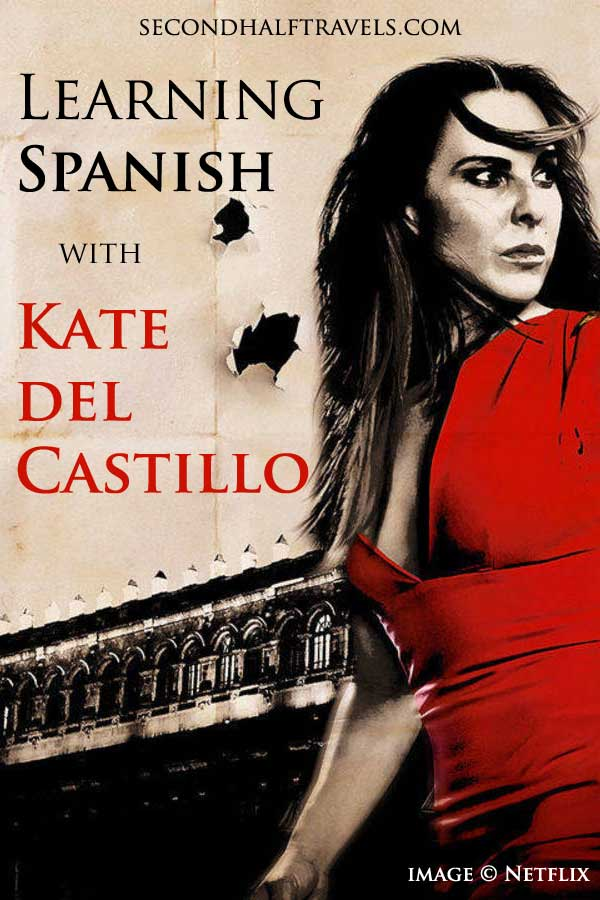 If you're learning Spanish and a fan of Mexican actress Kate del Castillo, check out those shows and podcasts featuring Kate to improve your Spanish.