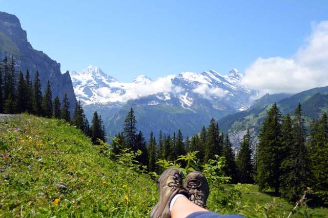 Secluded Gimmelwald: an introvert traveler's dream