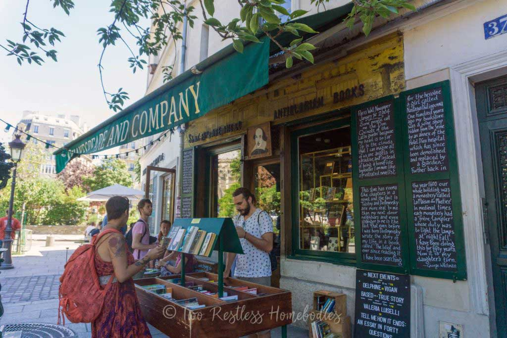 Shakespeare & Company – Paris, France - best bookstores in the world