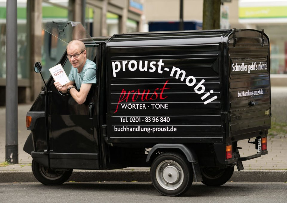 Proust-Mobil, Proust Wörter + Töne, Essen, Germany - best bookstores of the world