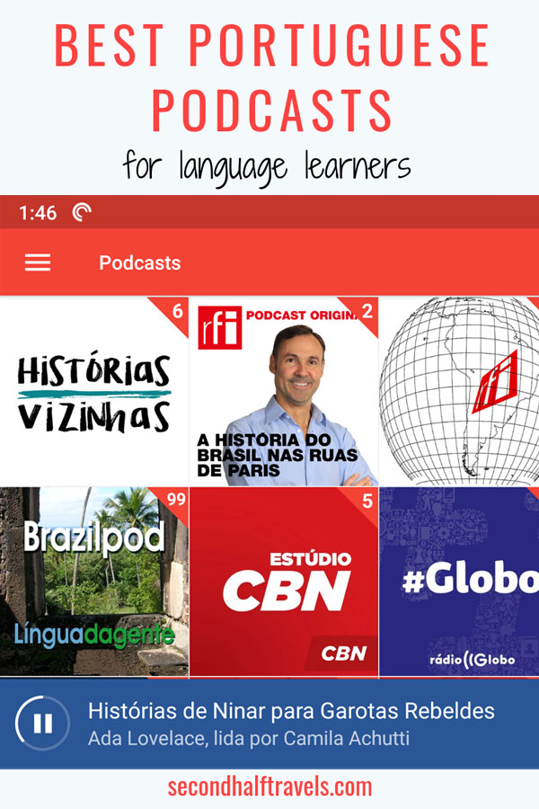 Learning Portuguese and need listening practice? Check out these best Portuguese podcasts for all levels. Learn Portuguese while exercising and in the car.