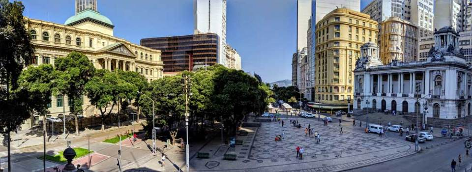 Historic center, Rio de Janeiro - learning Brazilian Portuguese