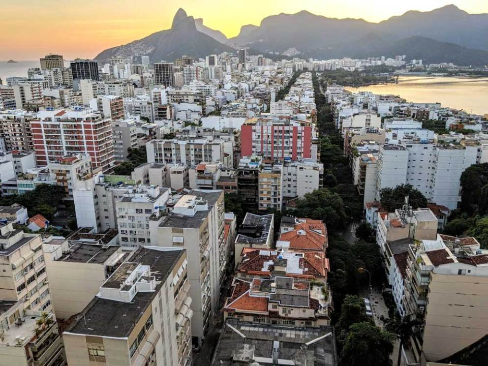 View from front: Ipanema