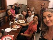 Weekly pizza night (photo courtesy Caminhos)