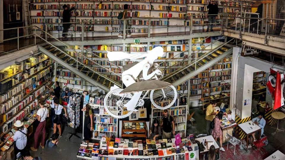 Ler Devagar, Lisbon bookshop