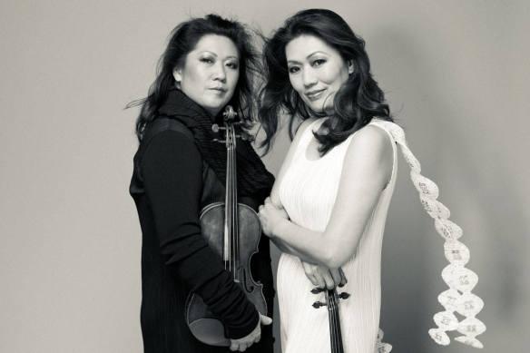 Angela and Jennifer Chun