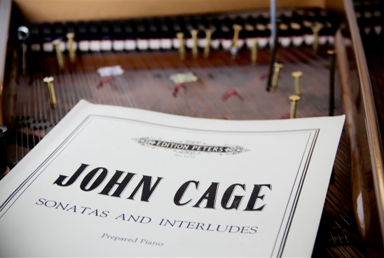 John Cage Sonatas and Interludes - Photo by Maggie Molloy