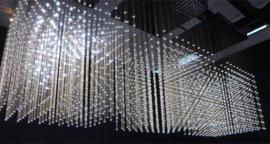 """Swarm Light"" by rAndom International"
