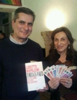 Loretta Napoleoni con Pierluigi Paoletti