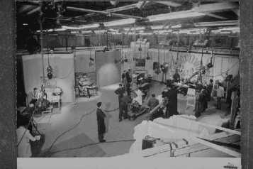 studio Tv Rai anni 50