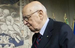 Trattativa Stato Mafia Il presidente Napolitano (photo Scrobogna/LaPresse)