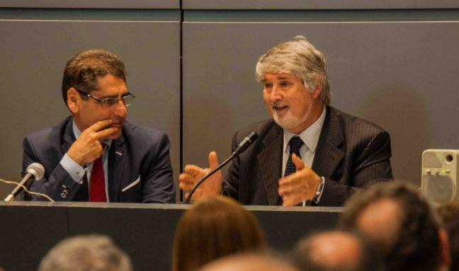 Salvatore Buzzi con Giuliano Poletti