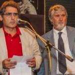 Salvatore Buzzi con il ministro Giuliano Poletti