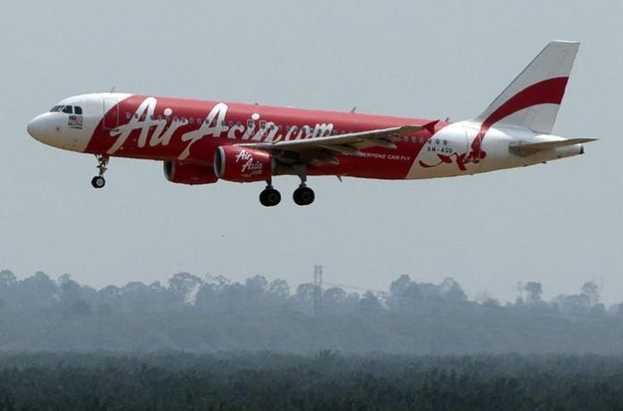 L'airbus dell'AirAsia scomparso (Epa/Yusni)
