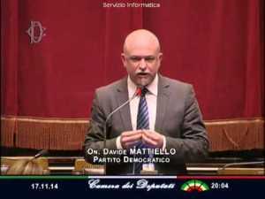 """il parlamentare del Pd Davide Mattiello """"preoccupato"""" per Matacena"""