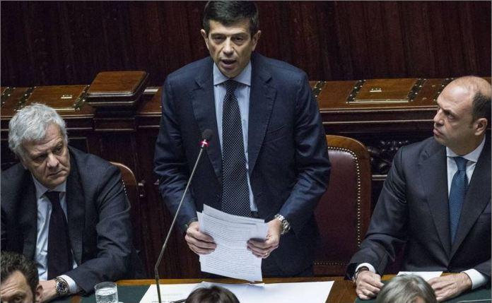 Maurizio Lupi nell'informativa alla Camera