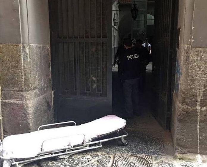 Il palazzo di vico bagnara dov'è successa la tragedia a napoli (Il Mattino)