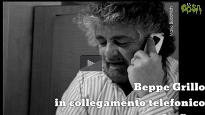 Beppe Grillo nel suo video messaggio
