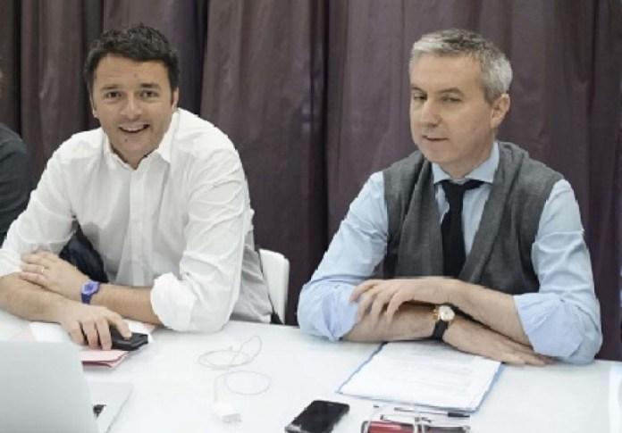 Matteo Renzi e Lorenzo Guerini - Il pd perde venezia