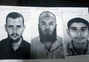 Le foto segnaletiche dei presunti autori dell'attentato al consolato italiano al Cairo