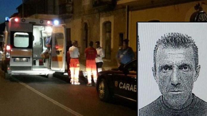 Omicidio a Palizzi Marina nel riquadro la vittima Antonio Genova.
