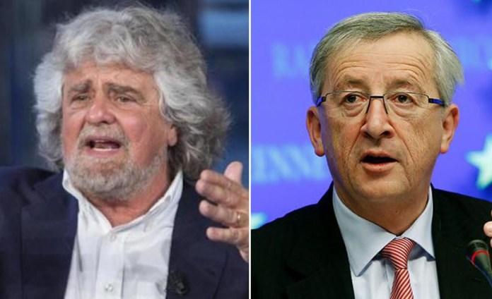 SINTONIA - Beppe Grillo Jean Claude Junker