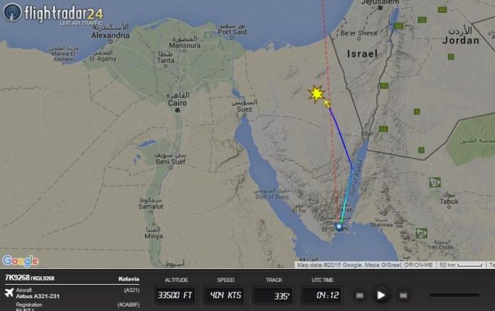 Egitto, precipita un Airbus russo sul Sinai con 219 persone