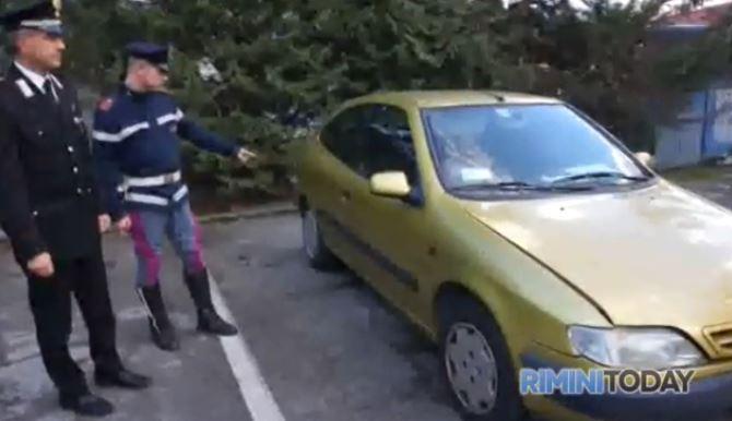 Pirati della strada in azione a Rimini