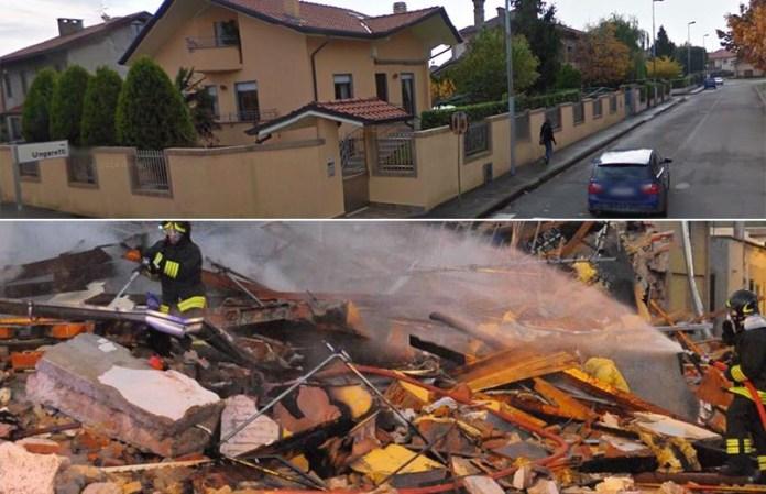 Cerro Maggiore, Milano crolla palazzina. Morta un'anziana Virginia Bollati