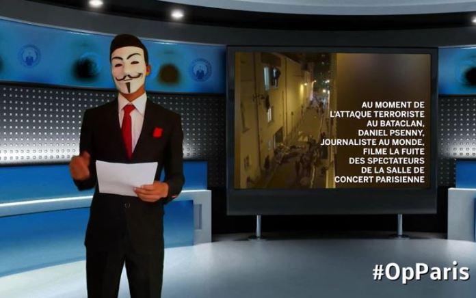 Parigi, Anonymous all'Isis Noi non perdoniamo. Aspettateci