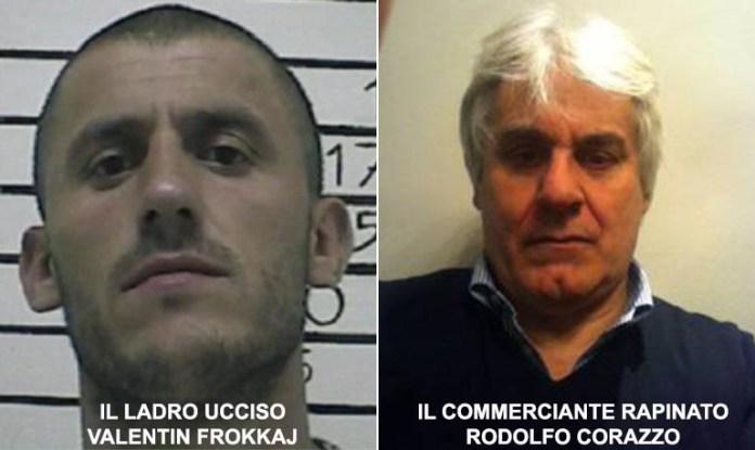 Rodano (Milano), ladro evaso rapina una villa ma viene ucciso da gioielliere Rodolfo Corazzo