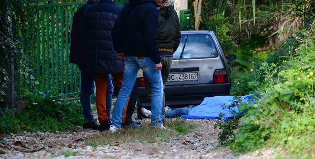 La scena dell'omicidio di Francesco Fiorillo