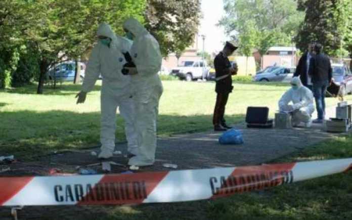 carabinier scientifica su omicidio