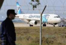Dirottato un airbus A320 dell'EgyptAir. 81 passeggeri a bordo