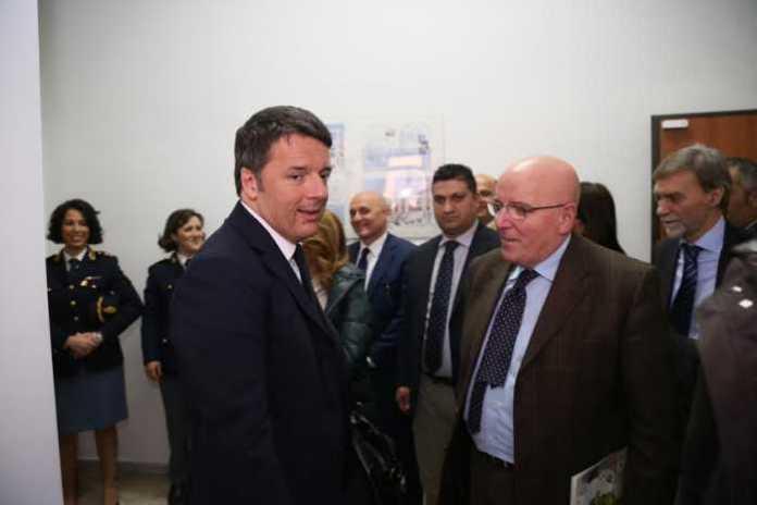 Matteo Renzi nel distretto Cyber Security di Cosenza