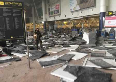 attacco all'aeroporto di Bruxelles