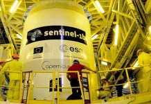 Tutto pronto per il lancio del satellite Sentinel 1B