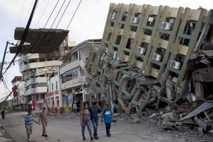 Terremoto in Ecuador, bilancio provvisorio di oltre 500 morti