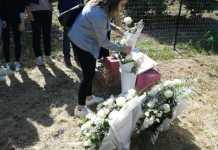 Corigliano, ricordata con rose bianche Fabiana Luzzi