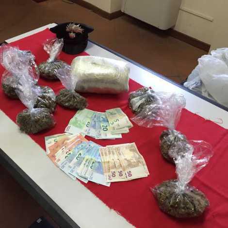 Trovato con 2 chili di marijuana, arrestato a Spezzano Giovanni Belli